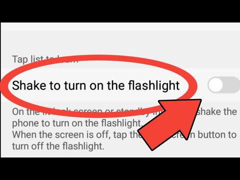 Shake for Flashlight