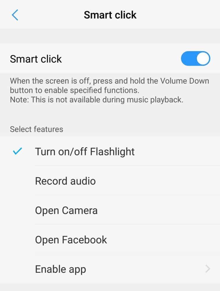 Smart Click Options