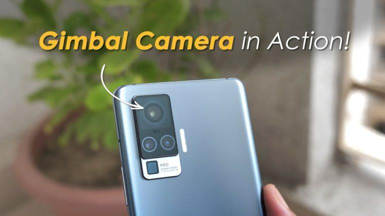 vivo X50 Gimbal Camera Hit the Industry