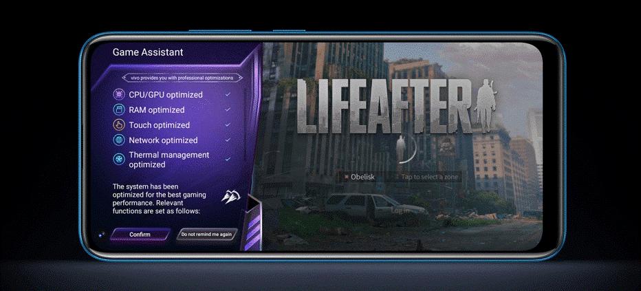 vivo y20i game mode