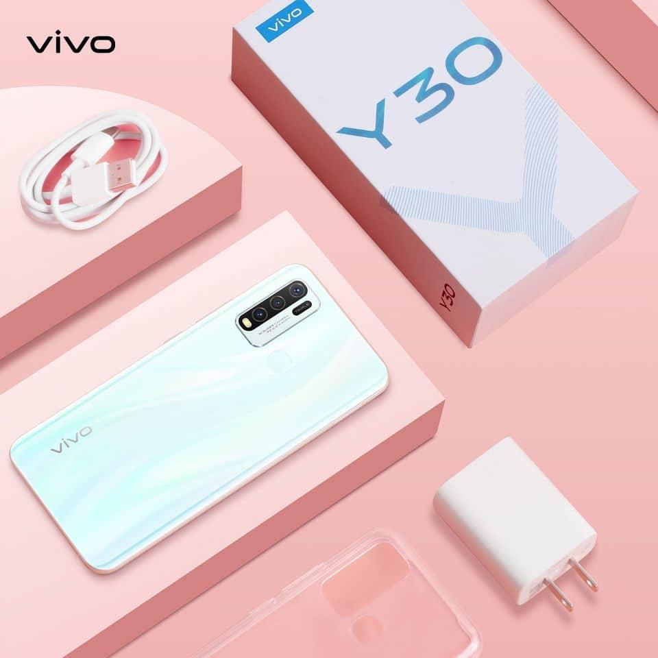 the Christmas discount of vivo Y30