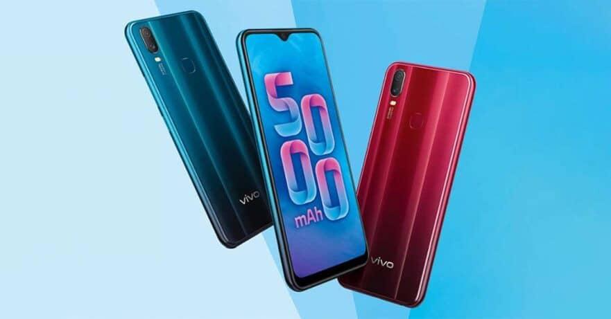 vivo Y11 big battery smartphone