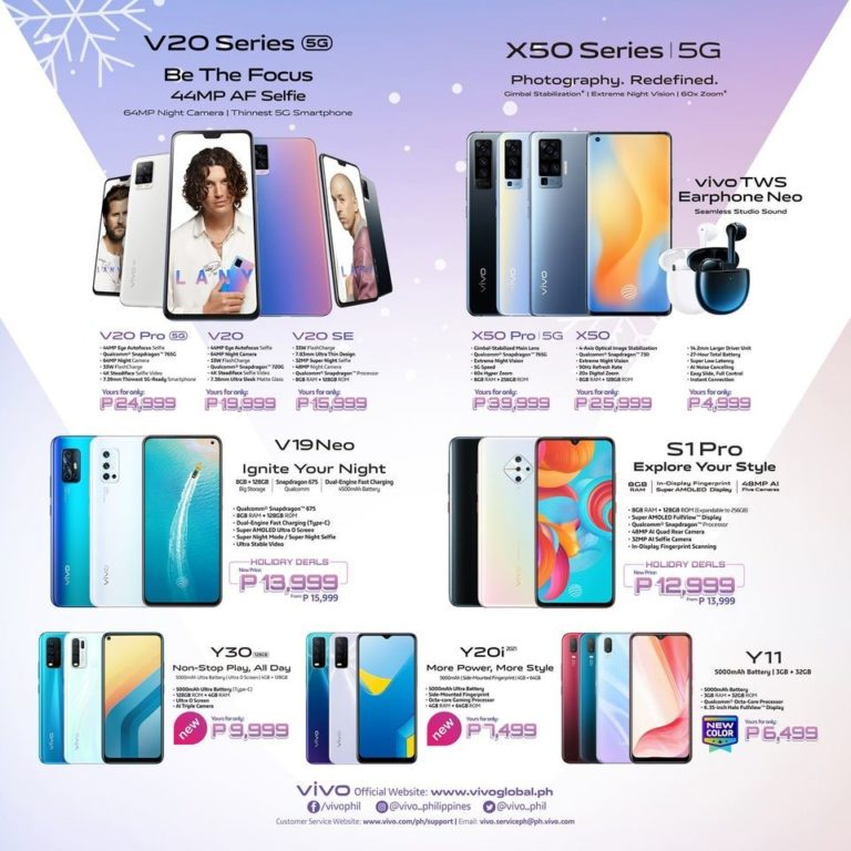 vivo affordable smartphones prices