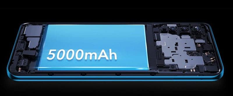 vivo smartphone big battery support