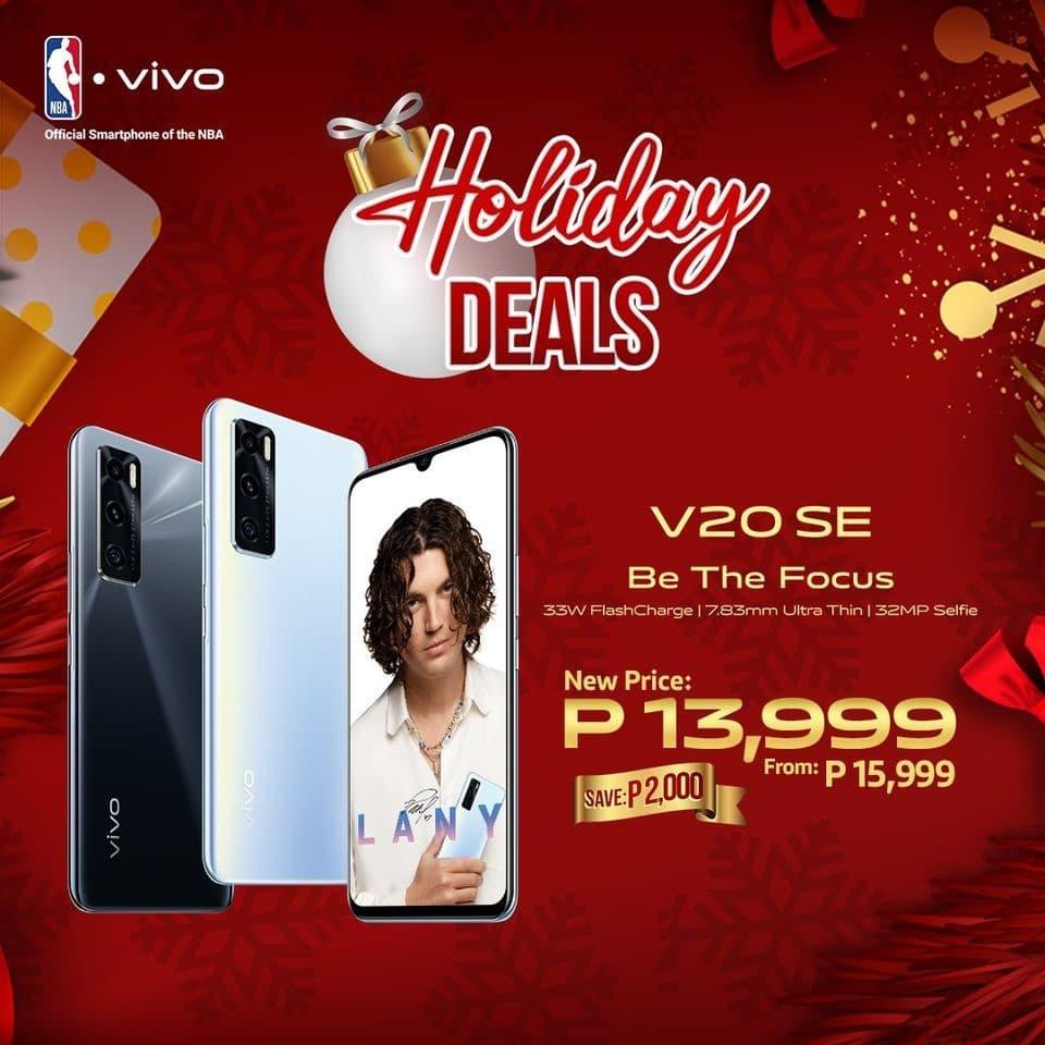 vivo v20se holiday offers