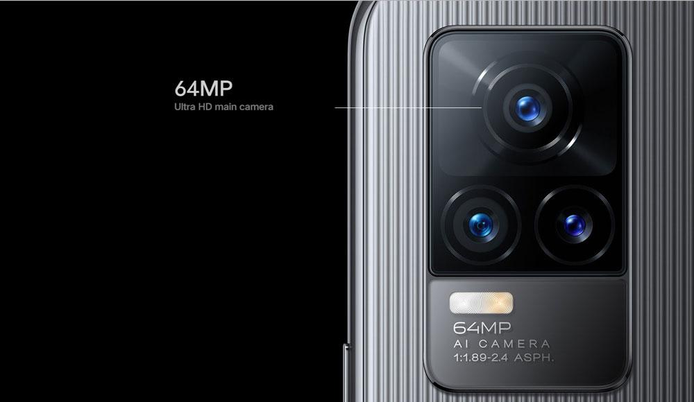 vivo V21e 66MP ultra HD camera