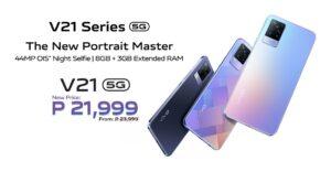 vivo V21 drops its price