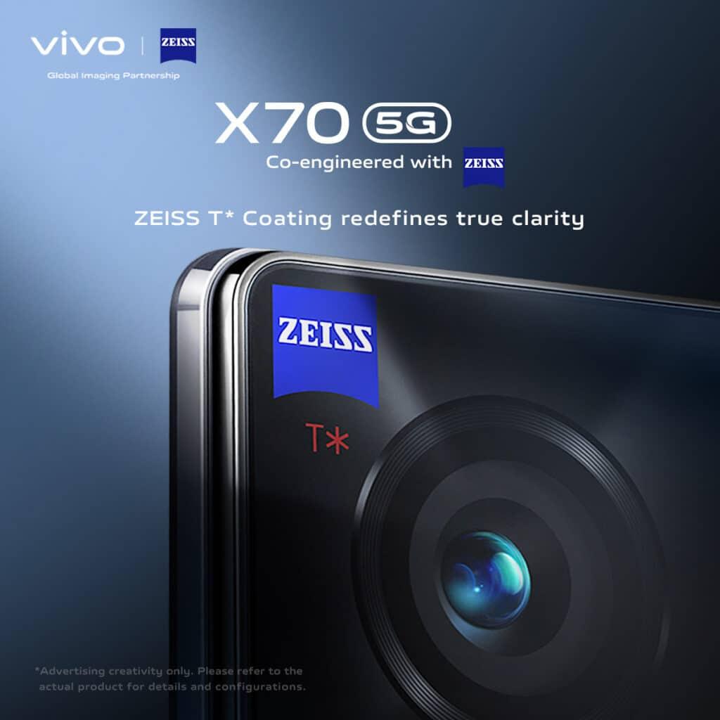 vivo X70 lands in stores soon